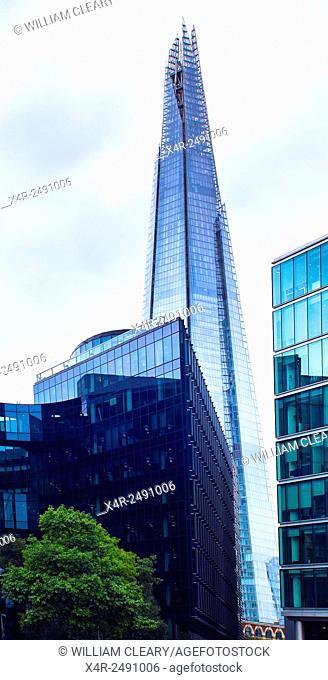 The Shard building, London, England, UK