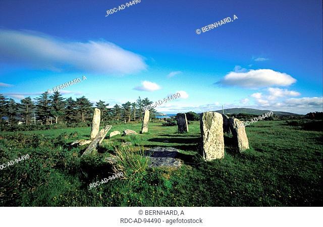 Stone ring Beara peninsula County Cork and Kerry Ireland
