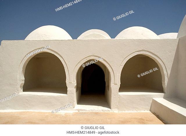 Tunisia, south region, Djerba island, El May fortified mosque