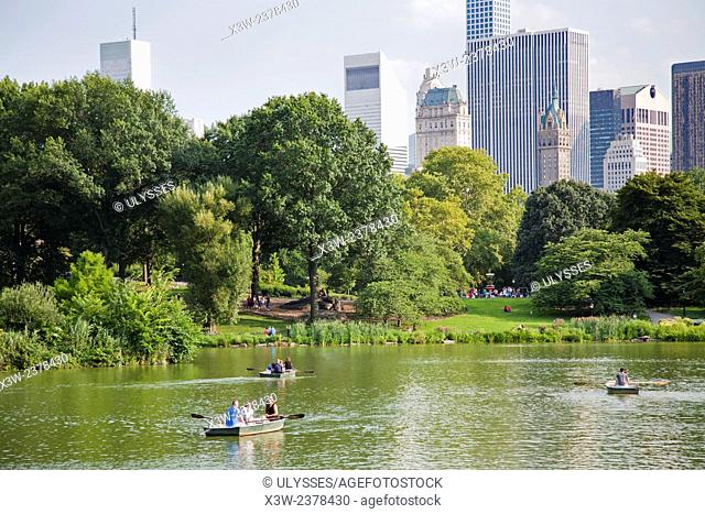 Central Park, Manhattan, New York, USA, America