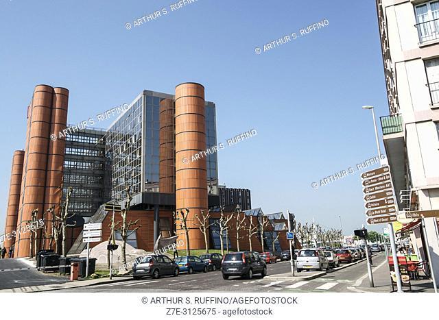 Centre de Commerce Internationale. Le Havre, UNESCO World Heritage Site, Seine-Maritime Department, Normandy, France, Europe