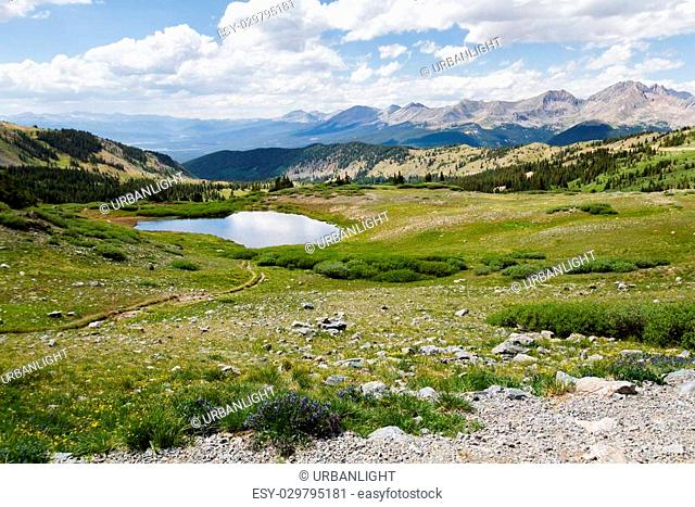 View from the top of Cottonwood Pass, Colorado