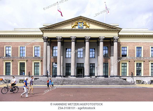 Palace of Justice in Leeuwarden, Friesland, The Netherlands, Europe
