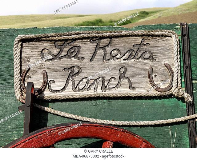 La Reata Ranch sign