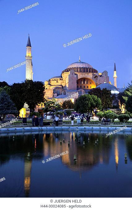 Hagia Sophia Aya Sofya Mosque Museum UNESCO world Heritage