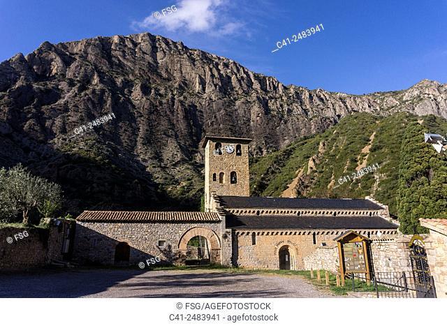 Real Monasterio de Santa María de Alaón. Sopeira. Huesca. Spain