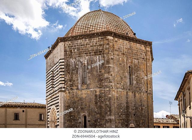 Volterra, babtistery Baptistero of St Giovanni