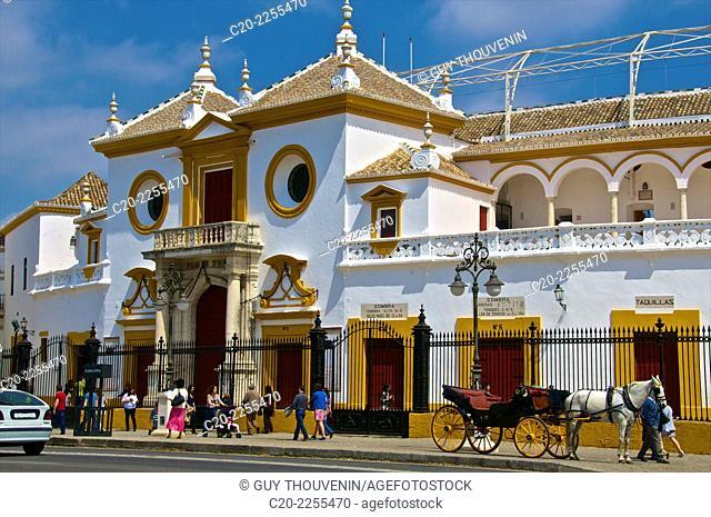 Plaza de Toros, Sevilla, Andalusia, Spain