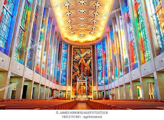 Interior Saint Josephs Cathdral