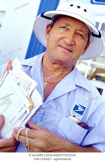 Postman, South Beach  Miami, Florida  USA