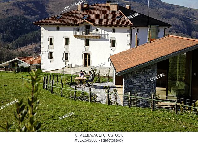 Hotel. Irrisarri Land, recreational center. Igantzi. Navarre. Spain