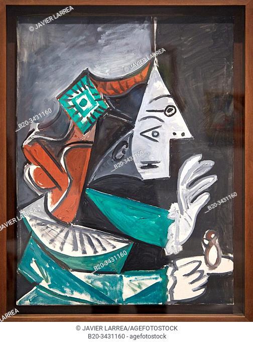 """Las Meninas (María Agustina Sarmiento)"", 1957, Pablo Picasso (1881-1973), Museu Picasso Museum, Barcelona, Catalonia, Spain"