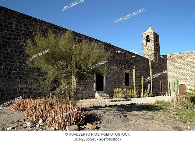 Mulege mission was the third of the peninsula, was founded in 1705 by the Jesuit missionary Juan Basaldua. It was built of stone near an oasis and the Bahia de...