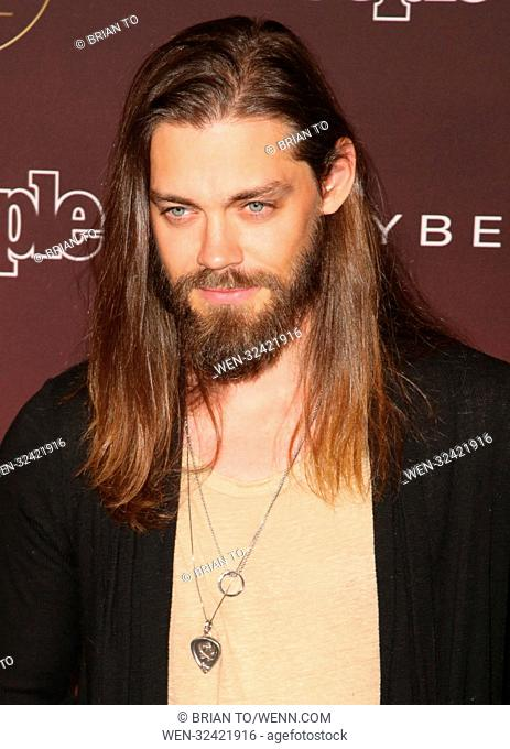 5th Annual People Magazine 'Ones To Watch' Party at NeueHouse Hollywood - Arrivals Featuring: Tom Payne Where: Los Angeles, California
