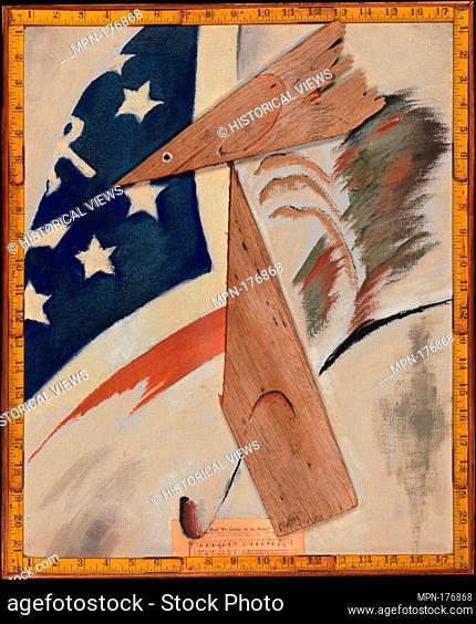 Portrait of Ralph Dusenberry. Artist: Arthur Dove (American, Canandaigua, New York 1880-1946 Huntington, New York); Date: 1924; Medium: Oil