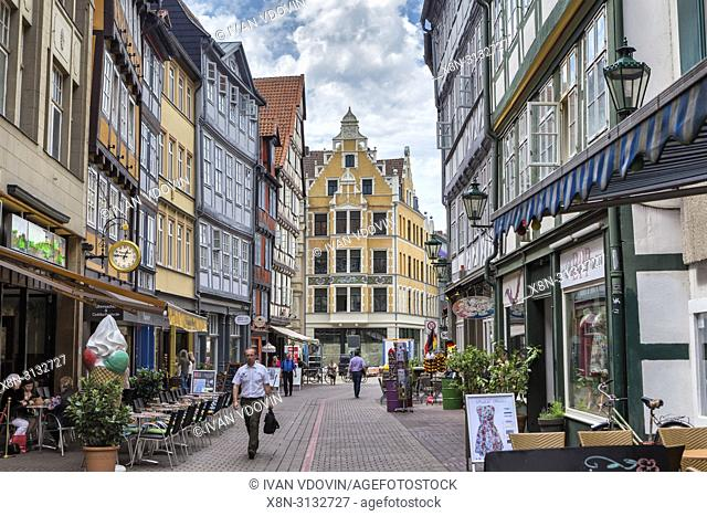 Old city centre, Hanover, Lower Saxony, Germany