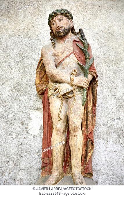 Ecce Homo, Abbaye Saint-Germain, Auxerre, Yonne, Burgundy, Bourgogne, France, Europe