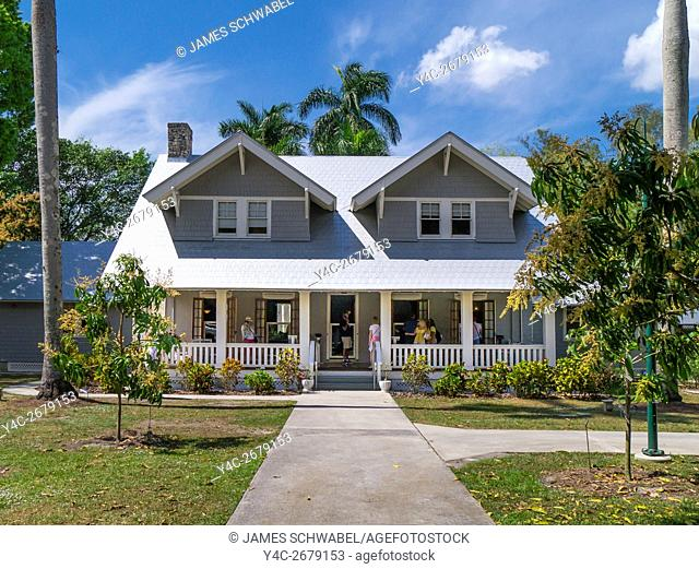 Henry Ford house at Edison and Ford Winter Estates in Fort Myers Florida