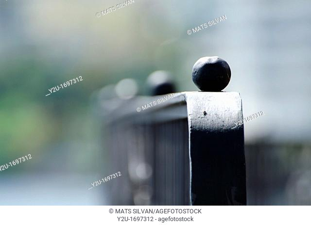 Close up on a fence