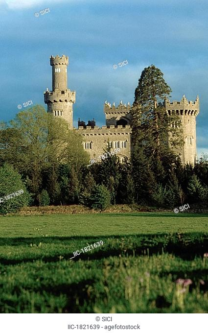 Charleville Forest Castle, Co Offaly, Ireland, 19th Century castle