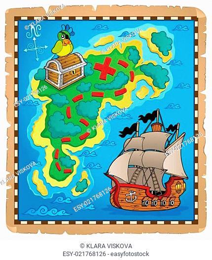 Treasure map topic image 5