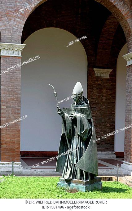 Sant Anselmo all'Aventino, home of the Benedictines, Aventine, Ripa, Rome, Italy, Europe
