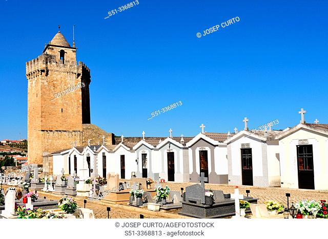 Castle of Freixo de Espada a Cinta, Braganza District, Tras os Montes-Alto Douro province, Portugal