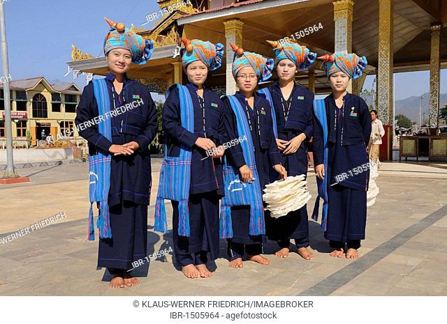 Pa-O, or Pao, Shan State, Inle Lake, Myanmar, Burma, Southeast Asia, Asia