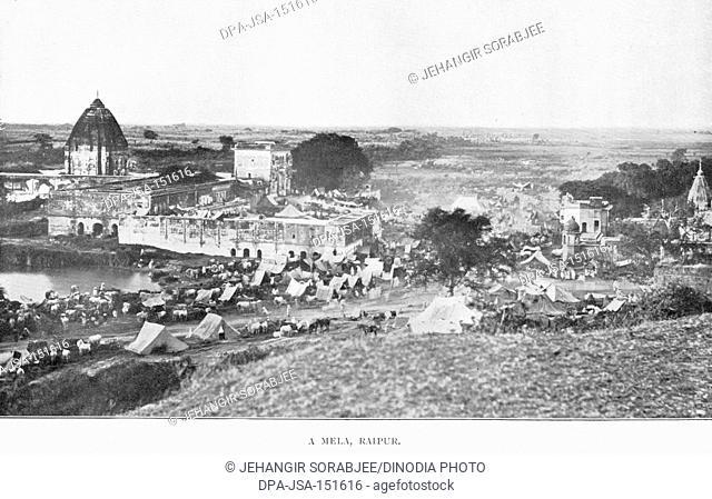 Famine districts ; mela ; Raipur ; Chhattisgarh ; India