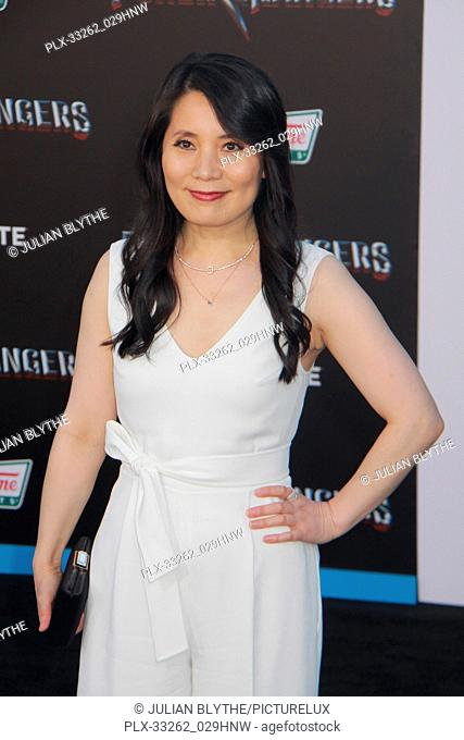 """Fiona Fu 03/22/2017 """"""""Power Rangers"""""""" Premiere held at the Westwood Village Theater in Westwood, CA Photo by Julian Blythe / HNW / PictureLux"""