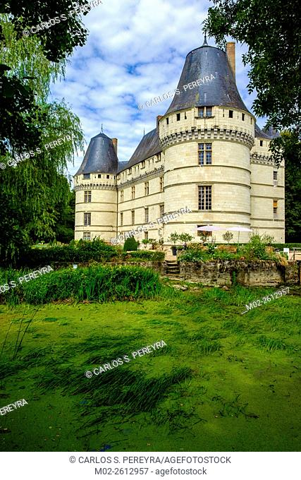 Chateau l'Islette, and gardens, Loire Valley, France, Europe