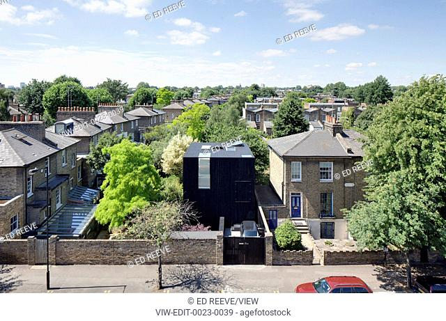 A three storey house in conservation area of De Beauvoir town in Hackney. The site has been excavated to basement level creating