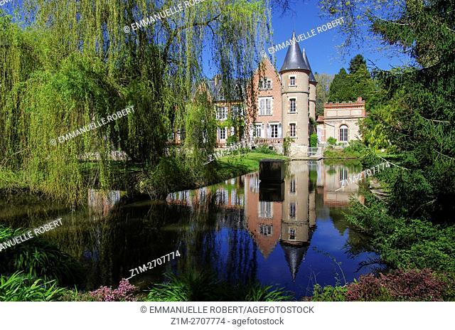 Villeneuve sur Allier, Arboretum, Allier, Auvergne, France