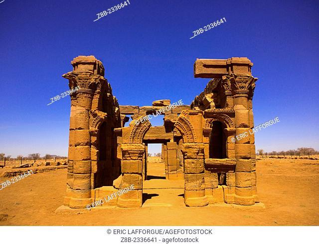 Roman Kiosk, Naga Site, Sudan