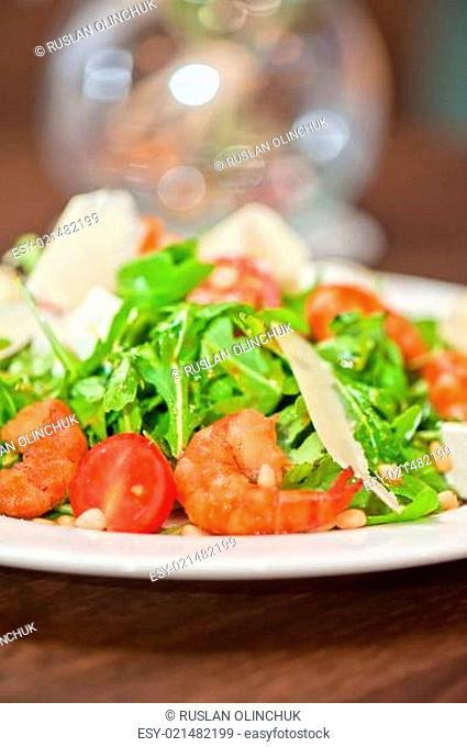 shrimp vegetable salad