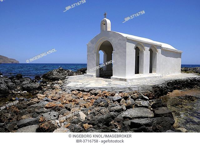 Agios Nikolaos Chapel, Georgioupolis, Crete, Greece