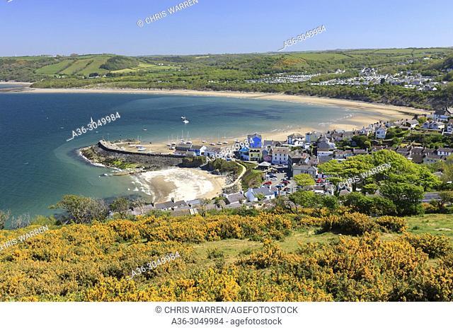 New Quay Ceredigion Wales