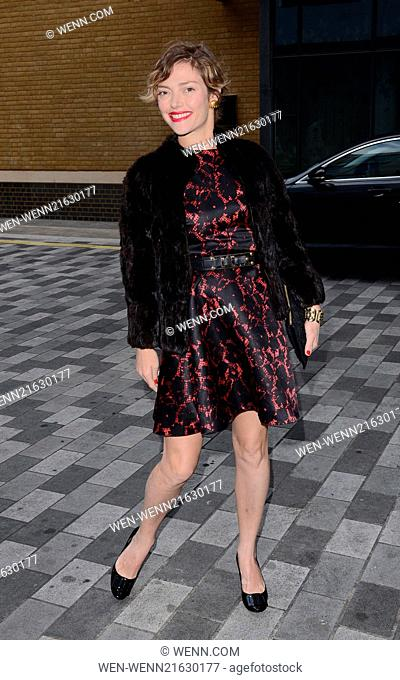 'Sin City 2: A Dame to Kill For' Gala Screening at the Ham Yard Hotel, Soho, London Featuring: Camilla Rutherford Where: London