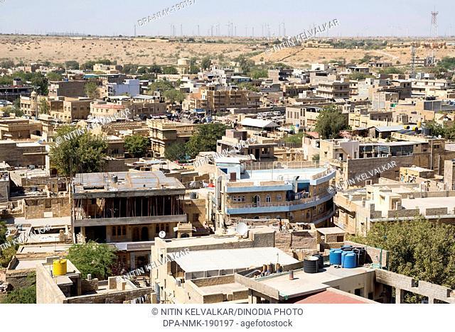 Jaisalmer City Rajasthan India Asia