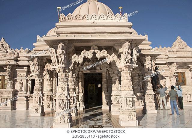 Front entrance, BAPS Swaminarayan Mandir, Katraj, Pune