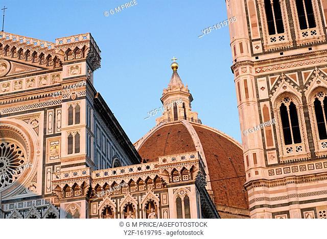 Il Duomo, Santa Maria del Fiore cathedral in Florence, Italy