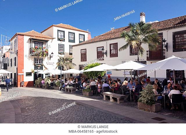 Placeta de Borrero, Santa Cruz de la Palma, La Palma, Canary islands, Spain
