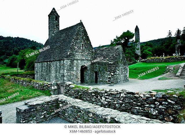 Saint Kevin's Church  Glendalough, County Wicklow, Ireland