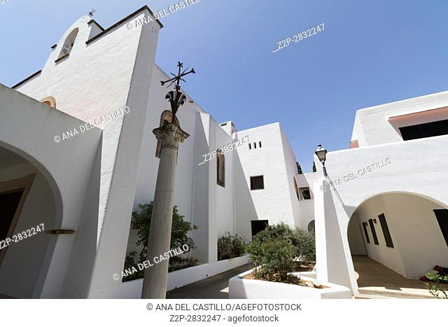 Church in Cala Dor Majorca island Balearics Spain