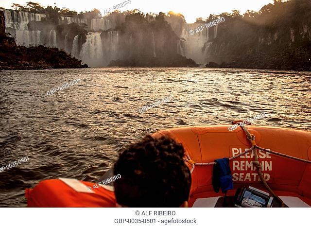 Macuco Safari; Iguaçu river; boat ride; Foz do Iguaçu; PR; Paraná; Brazil