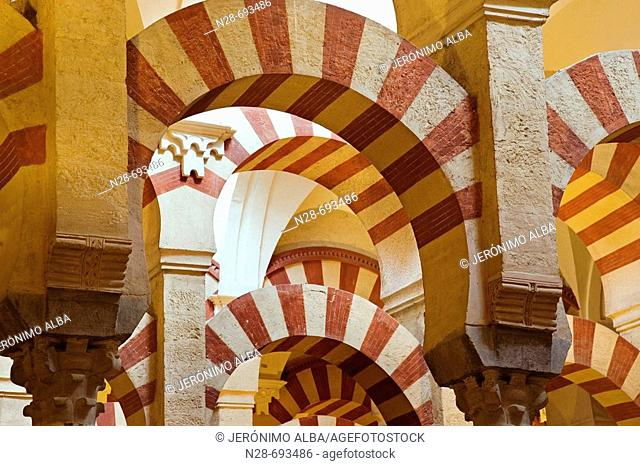 The Great Mosque of Cordoba. Andalusia, Spain