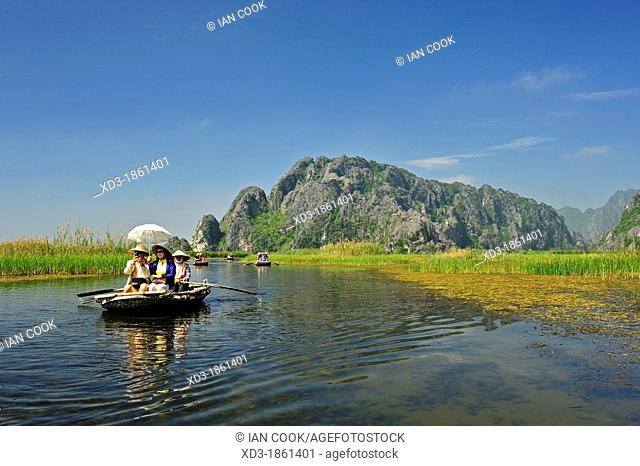 Van Long Nature Reserve, Ninh Binh Province, Vietnam