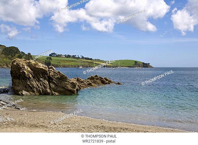 Trebah Beach, Helford River, Mawnan Smith, Falmout