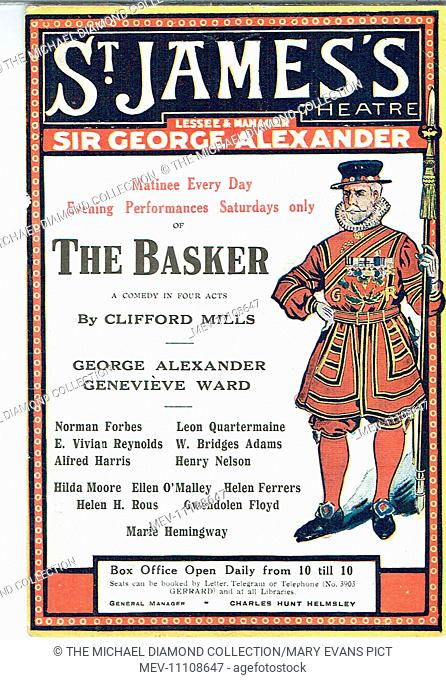 The Basker, a comedy by Clifford Mills. First produced at St James's Theatre, London, January 1916. The title refers to a lazy person who has an easy life