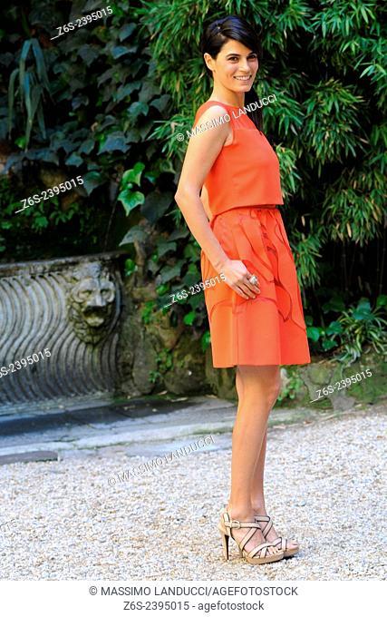 Valeria Solarino; Solarino; actress; celebrities; 2015;rome; italy;event; photocall; la scelta